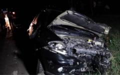 Depasire riscanta, un pas pana la tragedie. Accident cu cinci raniti pe DN31