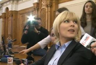 Deputatii juristi au avizat urmarirea penala a Elenei Udrea fara dezbateri