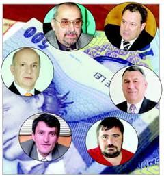 Deputatii valceni au incasat, in martie, peste 70 de mii de lei