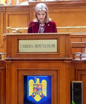 Deputatul Cristina Elena Dinu, noutati din Parlament