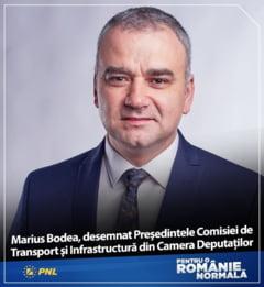 Deputatul Marius Bodea a parasit oficial grupul parlamentar al PNL. Va fi candidatul USR-PLUS la Consiliul Judetean Iasi