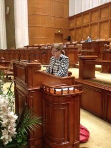 Deputatul Neviser Zaharcu atrage atentia asupra vitezei exagerate cu care se deplaseaza navele si ambarcatiunile in Delta Dunarii