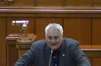 Deputatul PSD Nicolae Bacalbasa, gesturi obscene in Parlament si atac la Turcan: Faci fractura daca mai dai cu labele