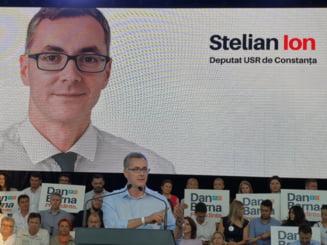 Deputatul Stelian Ion intra in cursa interna a USR pentru primaria Constanta