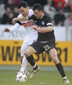 Derbi romanesc in Bundesliga: Stuttgartul lui Marica a invins Hertha lui Nicu