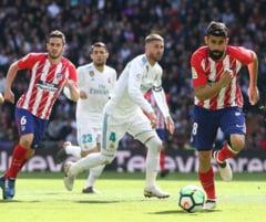 Derbiul dintre Real Madrid si Atletico Madrid s-a terminat indecis