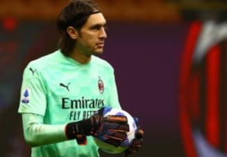 """Derby de cosmar pentru Tatarusanu la AC Milan. Cu romanul titular, """"diavolii"""" au fost eliminati de rivala Inter. Gol decisiv in prelungiri"""