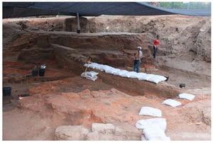 Descoperire antica egipteana rara la Tel Aviv