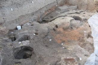Descoperire arheologica importanta pe santierul autostrazii Lugoj-Deva