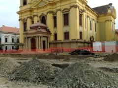 Descoperire arheologica uluitoare in centrul Timisoarei