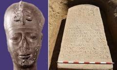 Descoperire de proportii biblice: O tablita de piatra scrisa cu hieroglife care confirma Scriptura