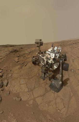 Descoperire interesanta a roverului Curiosity pe planeta Marte