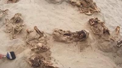 Descoperire macabra facuta in Peru: Ramasitele a 140 de copii si 200 de lame, toti cu inimile scoase