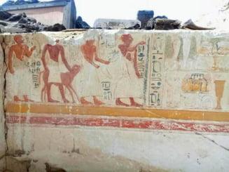 Descoperire majora in Egipt: A fost gasit mormantul unui general din antichitate (Galerie foto)