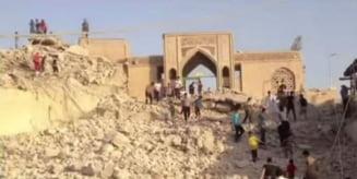 Descoperire monumentala in tunelurile sapate de Statul Islamic in Mosul