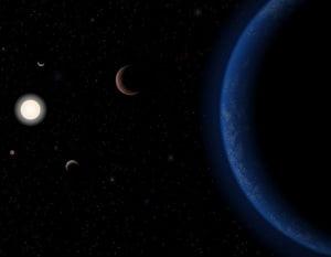 Descoperire neasteptata: Planeta locuibila, la doar 12 ani lumina de Pamant