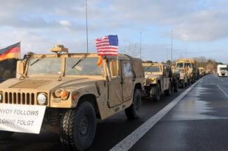 """Desfasurare de forte fara precedent in Europa de Est: Americanii din """"Brigada de fier"""" au ajuns in Polonia"""