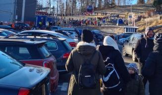 Desi au fost mii de oameni la Sinaia, care au incalcat regulile anti-pandemice, jandarmii au dat doar sase amenzi