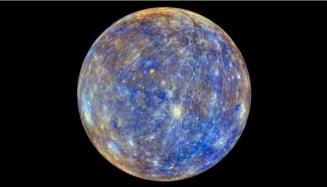 Desi e cea mai aropiata planeta de Soare, iata ce s-a gasit pe Mercur