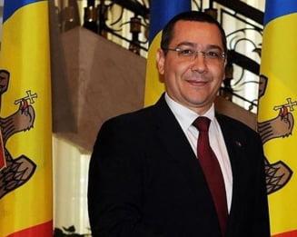 Desi in concediu, Ponta a gasit un mod sa-i transmita un mesaj noului premier moldovean