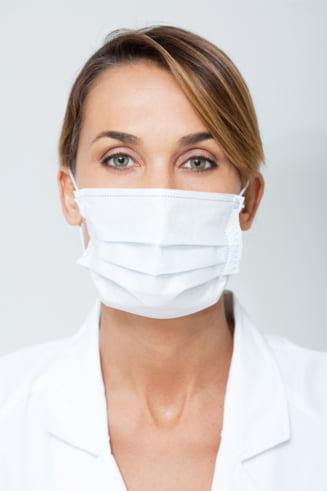 Desi suntem in plina epidemie de gripa, functionarii publici din Olt refuza sa poarte masti care sa ii protejeze