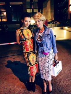 Designerii straini, despre rochia cu icoane a Mariei Simion - ce spune cel care o imbraca si pe Lady Gaga