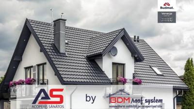 Despre acoperisurile cu tigla metalica. Interviu cu Mircea Barticel, BDM Roof System