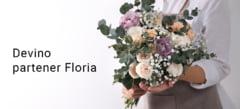 Devino partener în rețeaua Floria.ro și primești comenzi pentru livrare de buchete în zona ta