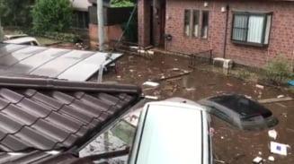 Dezastru in Japonia: Aproape 200 de oameni au murit din cauza inundatiilor (Foto&Video)