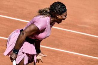 """Dezastru pentru Serena la Roma: o """"anonima"""" a batut-o in doua seturi VIDEO"""
