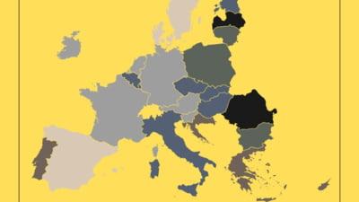 """Dezastrul de pe șosele. România, țara cu cele mai nesigure drumuri din UE. Șoferii vor putea semnala online """"gropile din asfalt"""" și """"conducătorii recalcitranți"""""""