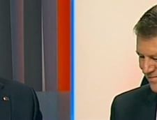 Dezbaterea Ponta-Iohannis : Candidatii, amenintati ca li se taie microfoanele