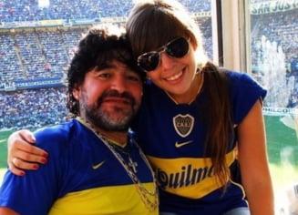 """Dezvaluire trista. Reactia fiicei lui Maradona la capataiul tatalui decedat: """"Va deschide capacul"""""""