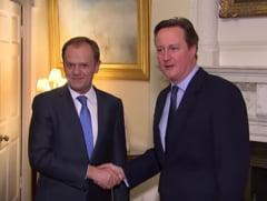 Dezvaluiri uimitoare despre Brexit. Tusk l-a somat pe Cameron sa renunte: Nimeni nu-si doreste o revolutie in Europa din cauza referendumului tau idiot