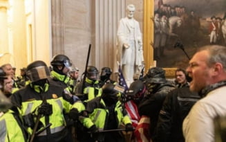"""Dezvaluirile unui politist ranit in asaltul asupra Capitoliului: """"Strigau sa fiu omorat cu propria mea arma"""""""