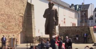 Dezvelirea unei statui a lui Karl Marx in Germania a declansat controverse (Video)