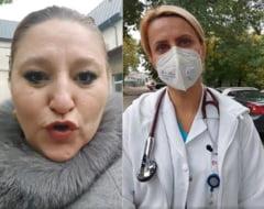 """Diana Șoșoacă, urlete la morga spitalului Marius Nasta: """"Aici se întâmplă crime!"""" Senatoarea a agresat-o pe managera Beatrice Mahler VIDEO"""