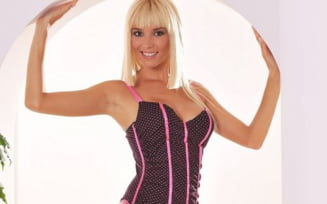 Diana Dumitrescu - pictorial sexy in lenjerie Victoria's Secret (FOTO)