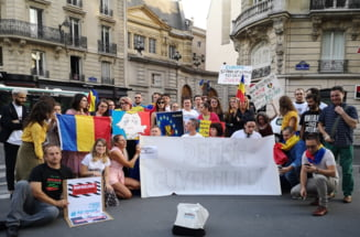 Diaspora iese in strada la doua luni de la marele miting inecat in gaze