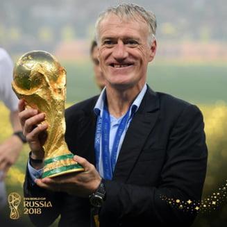 Didier Deschamps a intrat intr-un club select dupa finala Cupei Mondiale. Reactia francezului care a bifat titlul mondial atat ca jucator, cat si ca antrenor