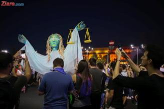 Die Welt, despre protestele de la Bucuresti: Imagini sumbre dintr-o tara care va prezida statele UE din ianuarie 2019