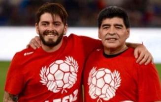 "Diego Maradona Junior promite razbunare: ""Cine mi-a ucis tatal va plati pentru asta"""