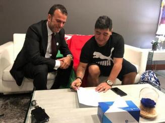 Diego Maradona a semnat cu o echipa surprinzatoare