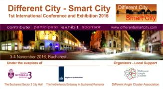 Different City - Smart City - noi oportunitati de afaceri si dezvoltare
