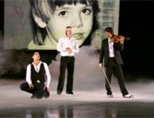 Dima Bilan a filmat videoclipul Believe cu Edvin Marton si Pluschenko