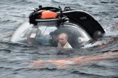 Din ispravile lui Vladimir Putin: S-a scufundat cu submarinul in Marea Neagra