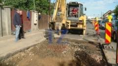 Din nou s-a prabusit asfaltul in Soarelui