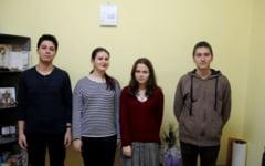 Din pasiune pentru limba lui Goethe, patru elevi braileni au ajuns profesori de ocazie pentru colegii lor
