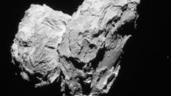 Din secretele unei comete: Ce ascunde partea intunecata