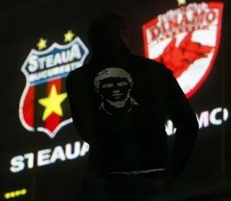 "Dinamo - Steaua, in ""Groapa"""